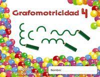 TRAZOS Y TRAZOS 4. GRAFOMOTRICIDAD