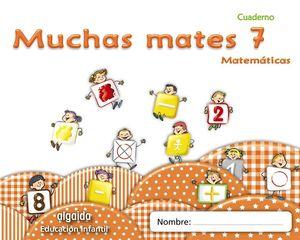 MUCHAS MATES CUADERNO 7