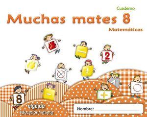 MUCHAS MATES CUADERNO 8