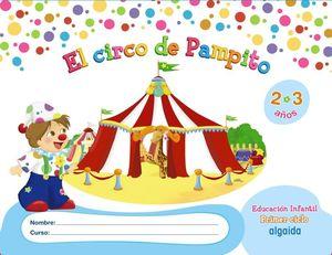 CIRCO DE PAMPITO 2-3 AÑOS 2013