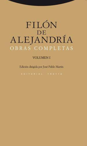 FILON DE ALEJANDRIA OBRAS COMPLETAS VOL.I