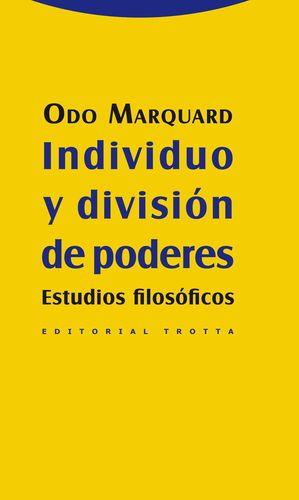 INDIVIDUO Y DIVISION DE PODERES