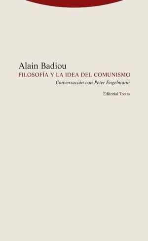 FILOSOFIA Y LA IDEA DE COMUNISMO