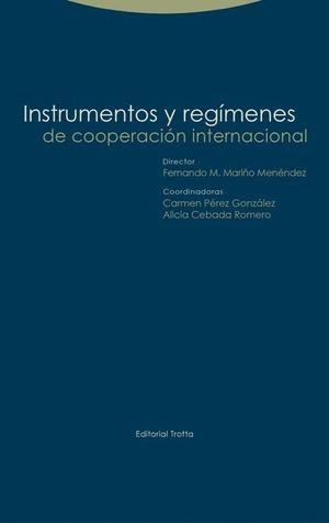 INSTRUMENTOS Y REGIMENES DE COOPERACION INTERNACIO