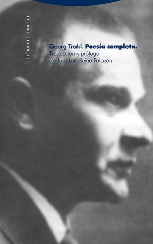 POESIA COMPLETA G. TRAKL 2ª ED