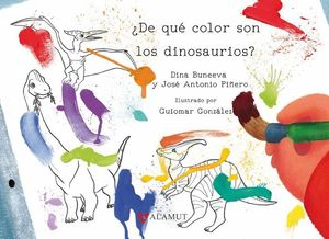 DE QUE COLOR SON LOS DINOSAURIOS?