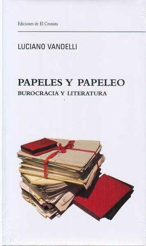 PAPELES Y PAPELEO