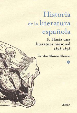 HISTORIA DE LA LITERATURA ESPAÑOLA VOL.5