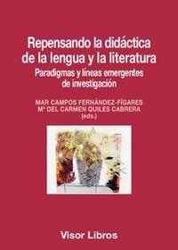 REPENSANDO LA DIDÁCTICA DE LA LENGUA Y LA LITERATURA