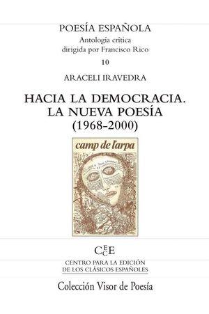 HACIA LA DEMOCRACIA LA NUEVA POESIA (1968-2000)