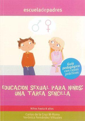 EDUCACION SEXUAL PARA NIÑOS, UNA TAREA SENCILLA