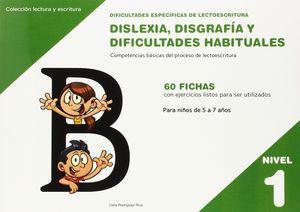 DISLEXIA NIVEL 1 DISGRAFIA Y DIFICULTADES HABITUALES