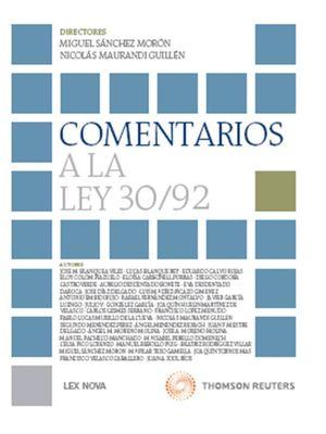 COMENTARIOS A LA LEY 30/92