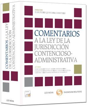COMENTARIOS A LA LEY DE LA JURISDICCIÓN CONTENCIOSO-ADMINISTRATIVA (PAPEL + E-BO