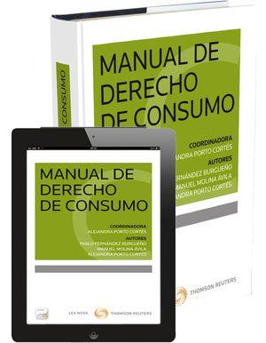 MANUAL DE DERECHO DE CONSUMO (PAPEL+E-BOOK)