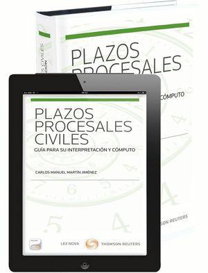 PLAZOS PROCESALES CIVILES (PAPEL + E-BOOK)