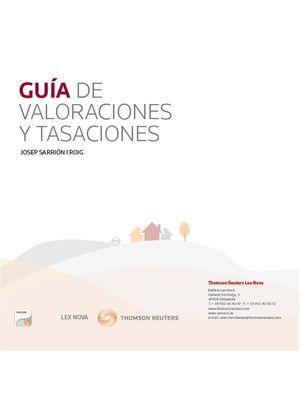GUÍA DE VALORACIONES Y TASACIONES (PAPEL + E-BOOK)
