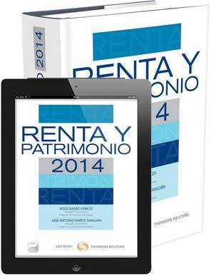 RENTA Y PATRIMONIO 2014 (PAPEL + E-BOOK)