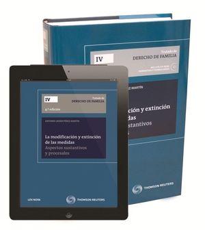 LA MODIFICACIÓN Y EXTINCIÓN DE LAS MEDIDAS (PAPEL + E-BOOK)