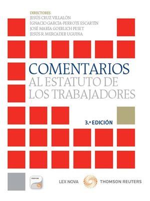 COMENTARIOS AL ESTATUTO DE LOS TRABAJADORES (PAPEL+E-BOOK)