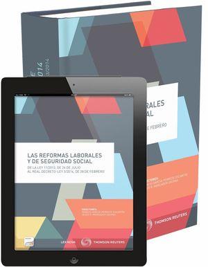 LAS REFORMAS LABORALES Y DE SEGURIDAD SOCIAL (PAPEL+E-BOOK)