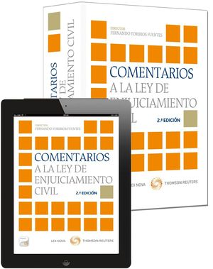 COMENTARIOS A LA LEY DE ENJUICIAMIENTO CIVIL 2ªED.
