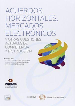 CUERDOS HORIZONTALES MERCADOS ELECTRONICOS Y OTRAS CUESTION