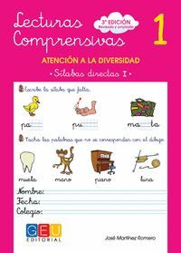 LECTURAS COMPRENSIVAS 1 SILABAS DIRECTAS I 3ª EDICION