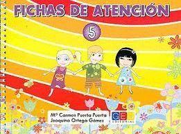 FICHAS DE ATENCIÓN 5