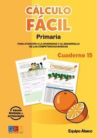 CÁLCULO FÁCIL 15 3ªEDICION