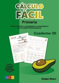 CALCULO FACIL 20 PRIMARIA 3ª EDICION