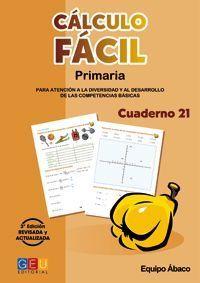 CALCULO FACIL 21 PRIMARIA 3ª EDICION