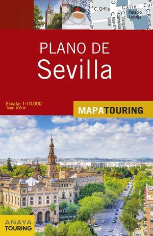 PLANO DE SEVILLA MAPA TOURING 2017