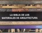 LA BIBLIA DE LOS MATERIALES EN ARQUITECTURA