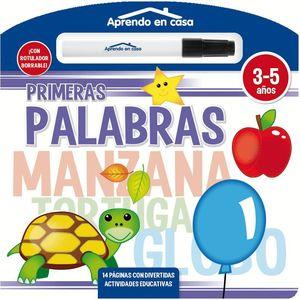 PRIMERAS PALABRAS LIBRO PIZARRA