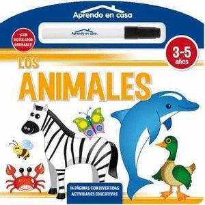 LOS ANIMALES LIBRO PIZARRA