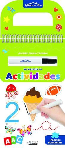 APRENDO EN CASA - MI MALETÍN DE ACTIVIDADES - VERDE