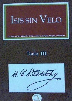 ISIS SIN VELO. TOMO 3