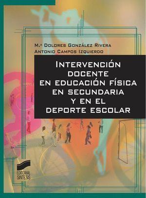 INTERVENCION DOCENTE EN EDUCACION FISICA EN SECUNDARIA...
