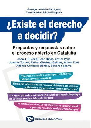 EXISTE EL DERECHO A DECIDIR ?