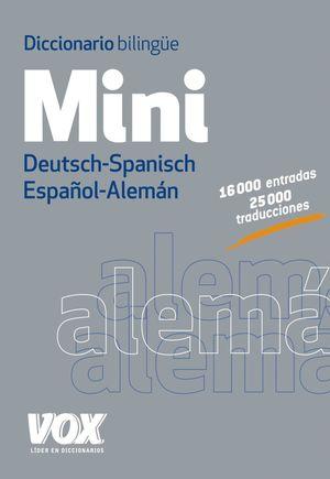 DICCIONARIO MINI ESPAÑOL - ALEMAN / DEUTSCH - SPANISCH