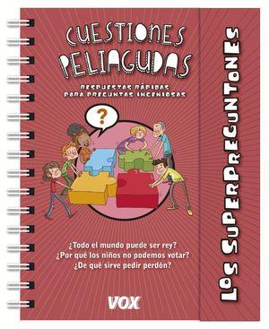 LOS SUPERPREGUNTONES CUESTIONES PELIAGUDAS