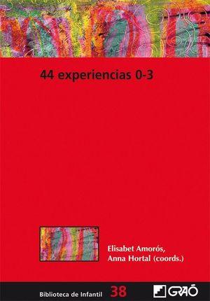 44 EXPERIENCIAS 0-3
