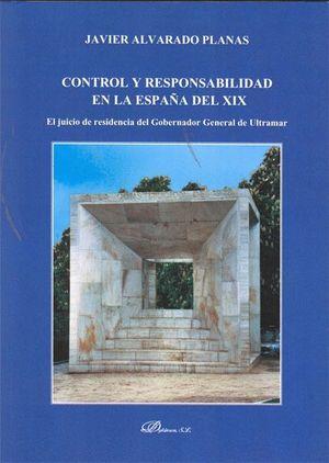 CONTROL Y RESPONSABILIDAD EN LA ESPAÑA DEL XIX