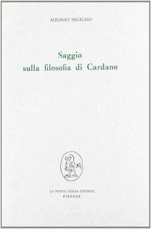 SAGGIO SULLA FILOSOFIA DI CARDANO