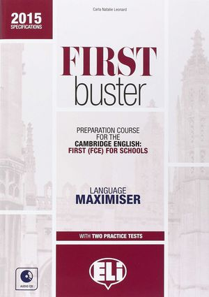 FIRST BUSTER 2015 LANGUAGE MAXIMISER + CD