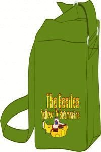 MOCHILA THE BEATLES YELLOW SUBMARINE VERDE