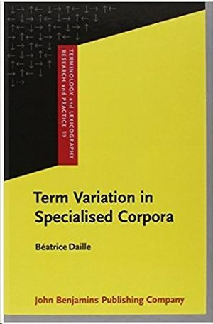 TERM VARIATION IN SPECIALISED CORPORA