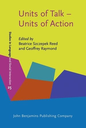 UNITS OF TALK - UNITS OF ACTION