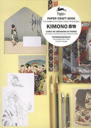 KIMONO LIVRET DE CREATIONS EN PAPIER